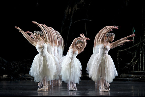 Artists of The Royal Ballet and Royal Ballet School in Swan Lake, Act II © Bill Cooper/ROH 2011 | by Royal Opera House Covent Garden