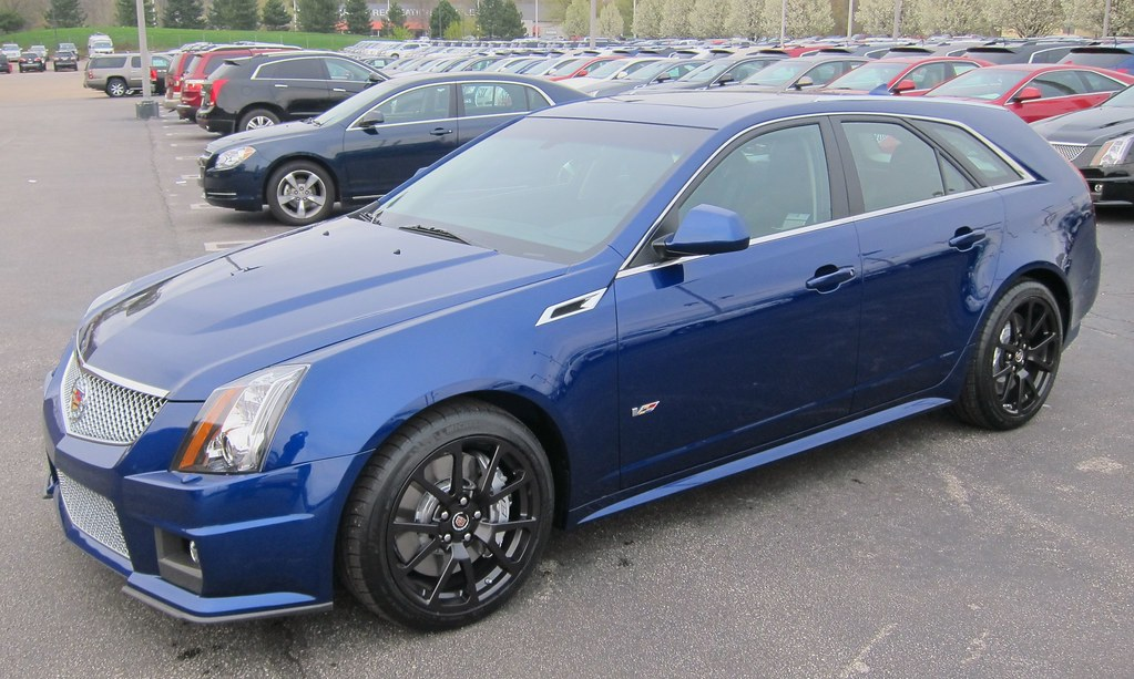 2012 Cadillac Cts V Wagon It Followed Me Home Can I Keep Flickr
