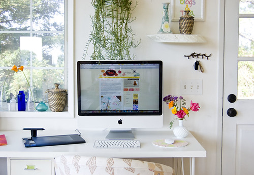 desk and designing nook | by bonniechristine