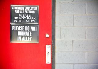 2012 06 23 - 4063 - DC - Alley Urination Sign | by thisisbossi