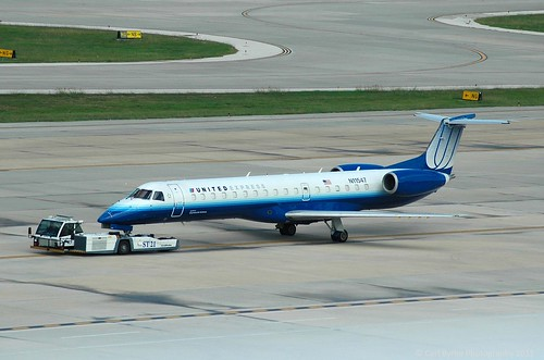 N11547 Embraer 145 of ExpressJet Airlines operating for United Express | by Mervbhx