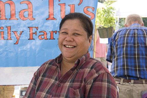 Mama Tu smiling (June 2012) | by Brookside Farmers' Market