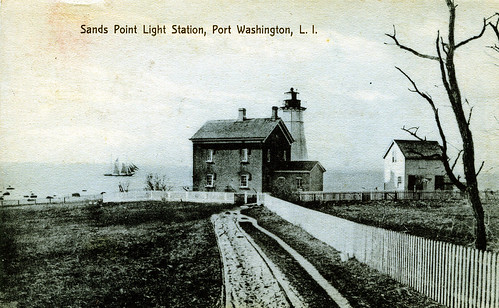 Sands Point Lighthouse, Port Washington, Long Island, New York, 1909 | by JFGryphon