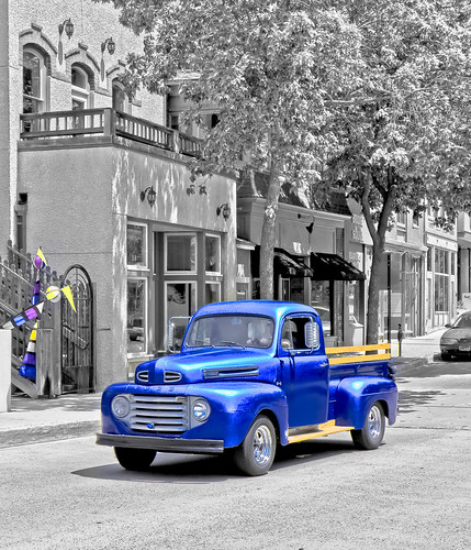 Blue Ford PickUp Truck A - vpsw | by SouthernBreeze