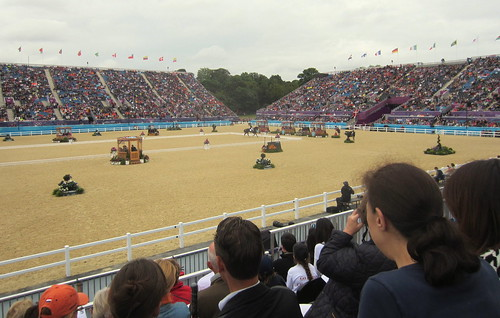 2012 Olympics - Team Dressage Final | by lhourahane