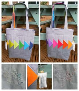 Tote & Keyring - all finished! | by Flying Blind On A Rocket Cycle