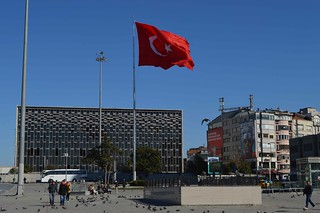 Turkish Flag Taksim Square | by bbcworldservice