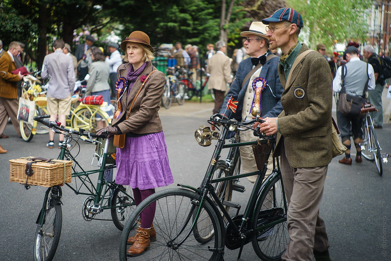 Tweed Run London 2016