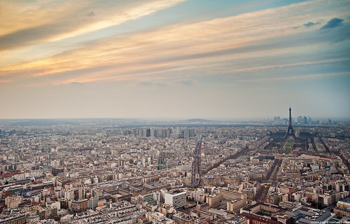 Paris from tour Montparnasse | by romvi