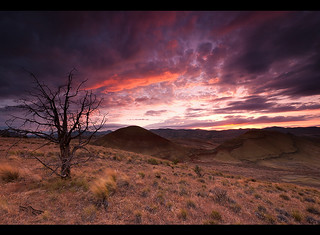 Painted Sky, Painted Hills... | by Andrew Kumler