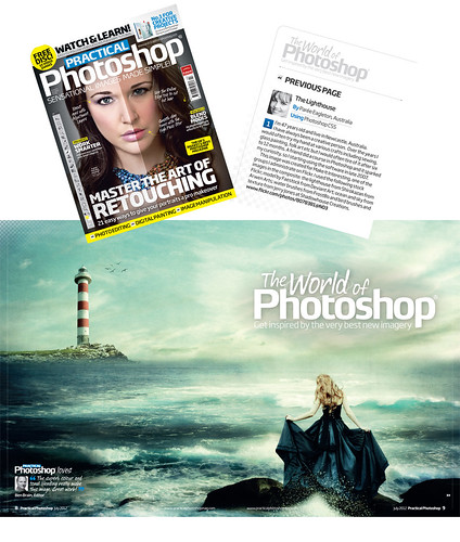 * Practical Photoshop Magazine Feature on Me!!!! * | by pareeerica