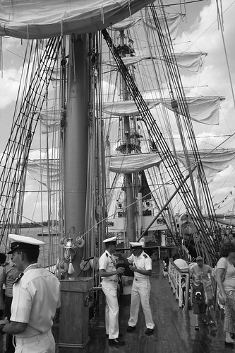 boston waterfront operation sail 2012 gloria colombian ship full view | by photographynatalia