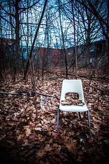 I'll Hide a Chair in the Woods for You | by Thomas Hawk