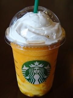 Mango Passion Tea Frappuccino with Mango Pudding | by julesberry2001