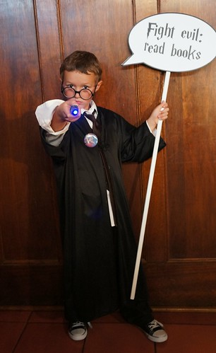 Harry (Maximum) at the Library photo booth | by Pima County Public Library
