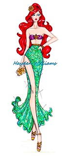 The Disney Divas collection by Hayden Williams: Ariel | by Fashion_Luva
