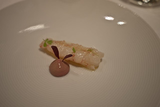 Scampi with chicken liver parfait at Tetsuya's | by hyteng