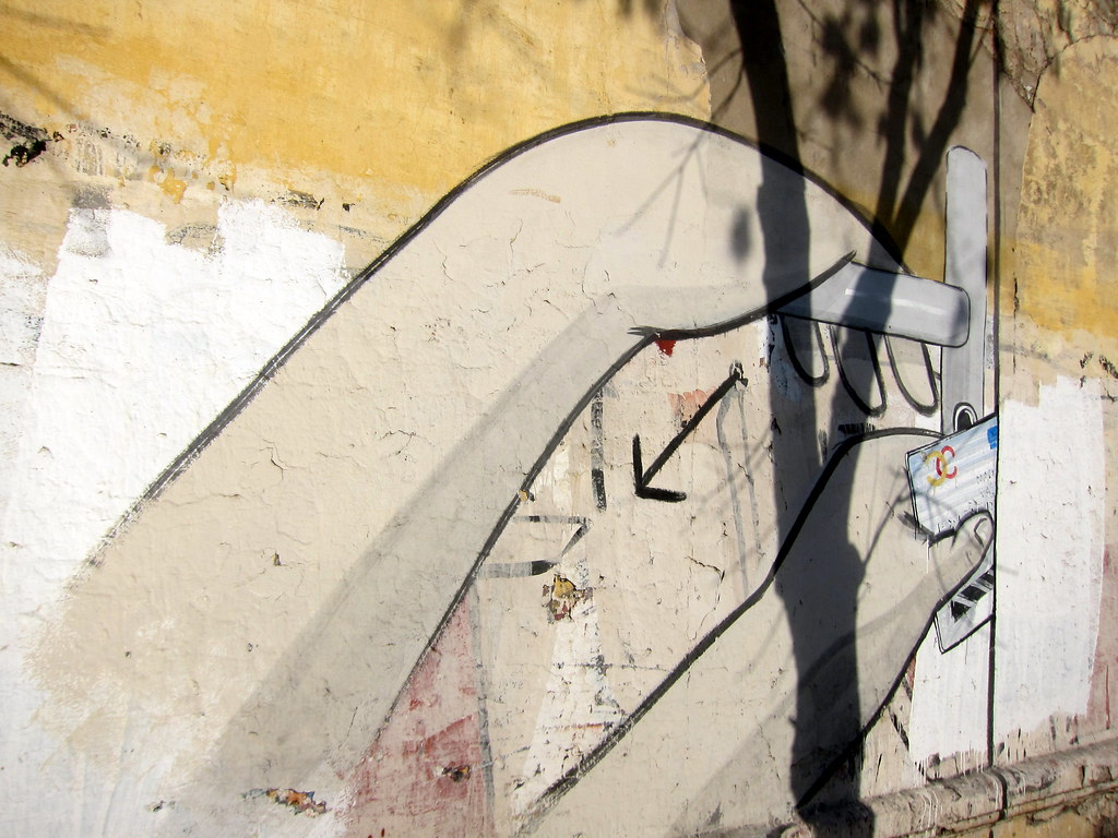 Buenos Aires La Boca Mural By Escif And Blu This Mural Flickr