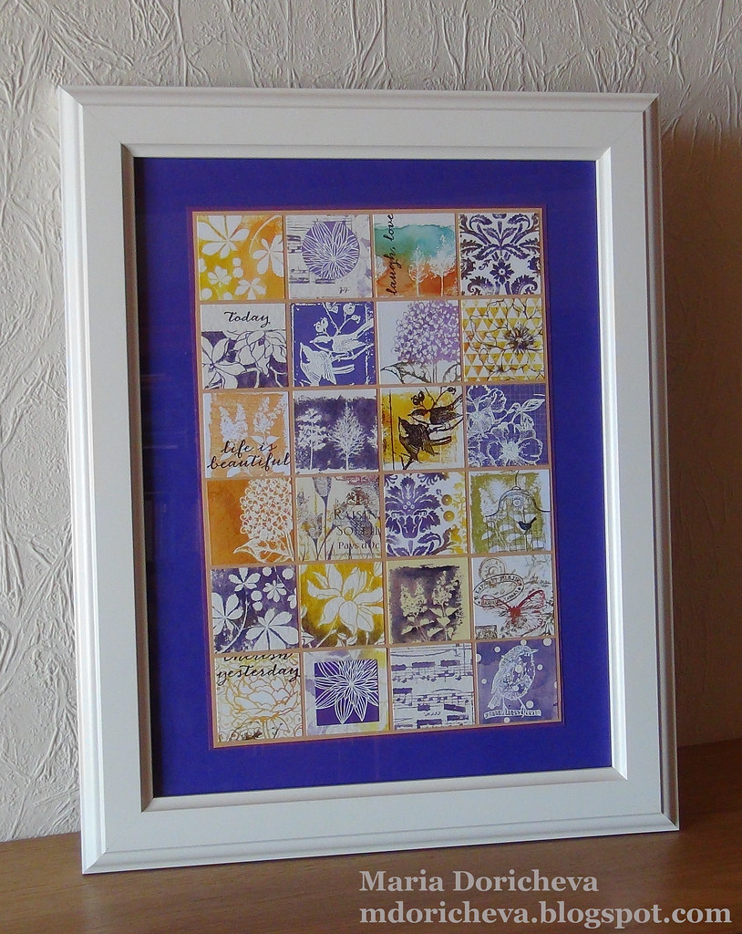 Live Laugh Love Collage In Purple These Collages Are So Flickr
