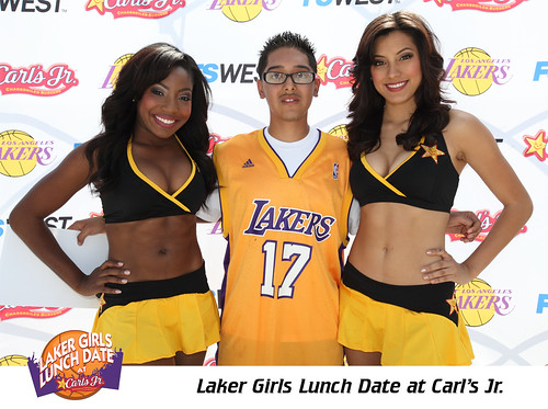 Laker Girls Lunch Date at Carl's Jr. in Glendale 3/23/2012 | by Carl's Jr.