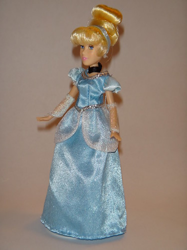 Cinderella 2012 Disney Store Mini Doll in Parks Dress - Full Right Front View | by drj1828