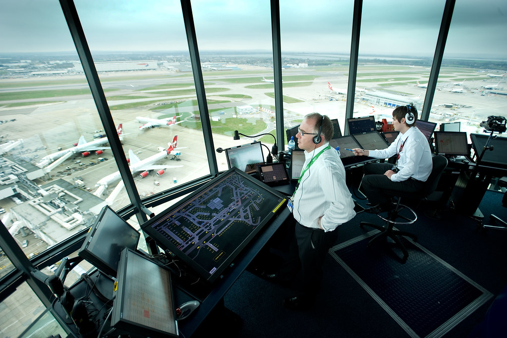 Image result for inside air traffic control tower