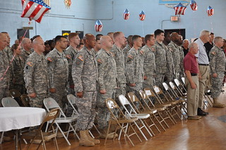 1-175th Infantry Freedom Salute Ceremonies | by Maryland National Guard