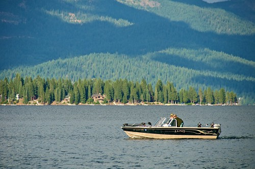 Fishing boat on lake almanor don debold flickr for Lake almanor fishing report