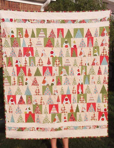 Christmas in July lap quilt | by mihertz