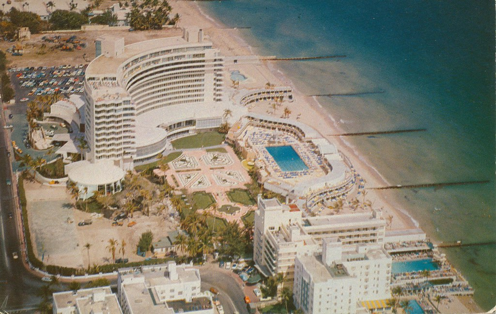 Fontainebleau Hotel Miami Beach Florida Dominating The Flickr