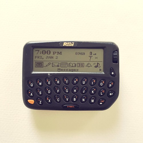 1999 - first BlackBerry