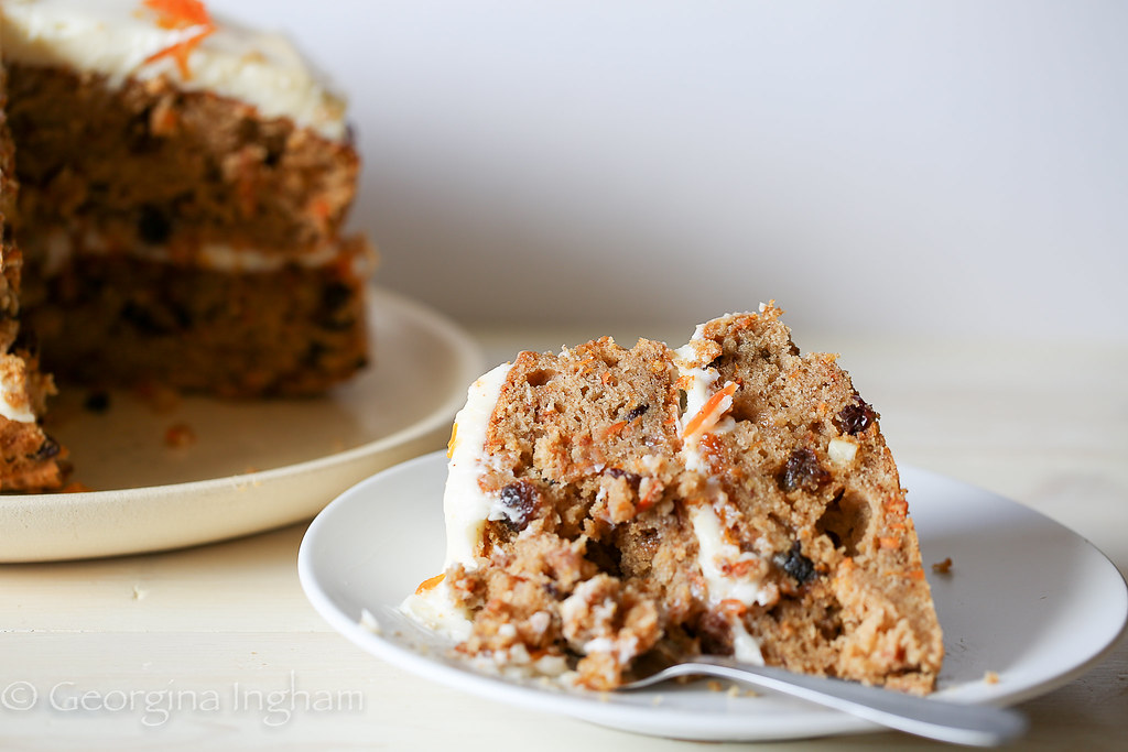 Georgina Ingham | Culinary Travels Photograph The Best Ever Carrot Cake