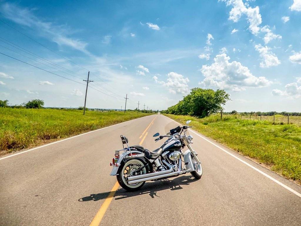 Open Road Backroads Harleydavidson Openroad Softail Harleyrider