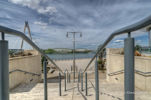 Steps to the Marine Lake, Southport | by Redoux