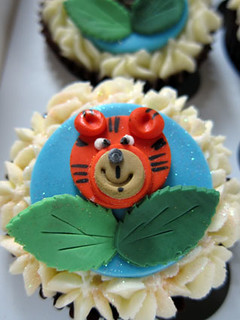 Wild Animal Cupcake | by Couture Cakes & Dreams