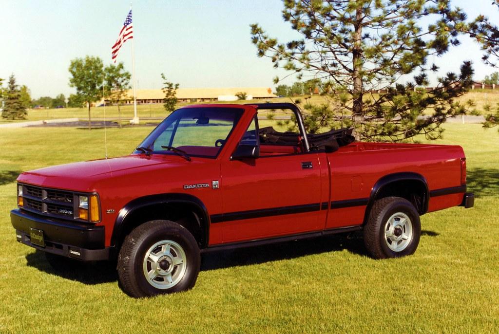 1989 Dodge Dakota Convertible Pickup Truck