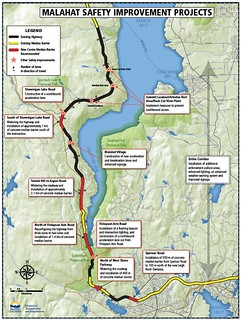 Malahat Safety Improvements Map | by BC Gov Photos