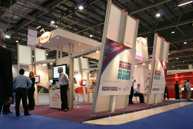 Custom Modular Exhibition Stands : Romec custom modular exhibition stand peter forse flickr
