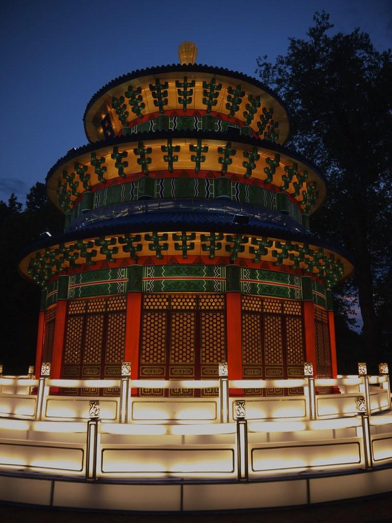 Heavenly Temple - Chinese Lantern Festival - Missouri Bota… | Flickr