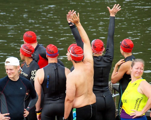 2012 New Jersey Hudson River Swim (NYC Ironman Triathlon Practice) | by jag9889
