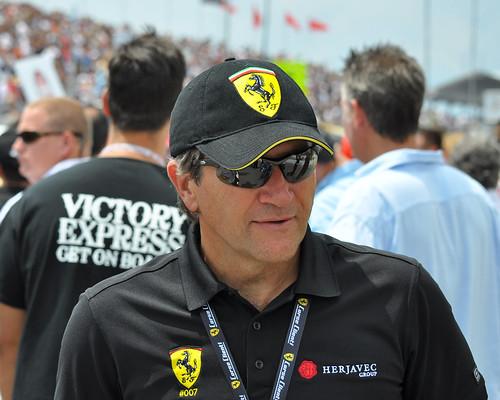 Robert Herjavec Grand Marshal Honda Indy Toronto 2012