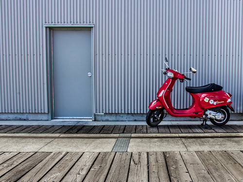 Red Ride | by Jason Gallant.