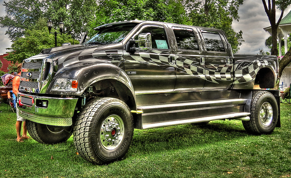 2005 Ford F650 Super Truck I Saw The Awesome Truck Powere Flickr