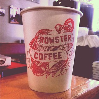 My work is going places thanks to @rowstercoffee | by justlucky