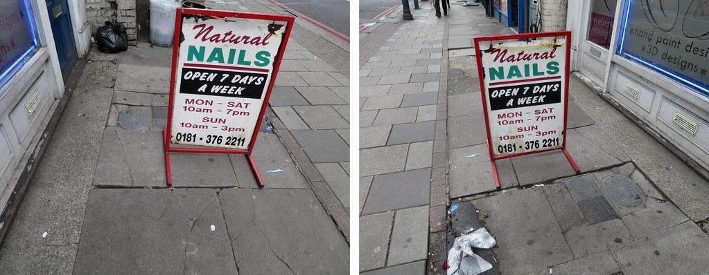 Image result for pavement sign flickr