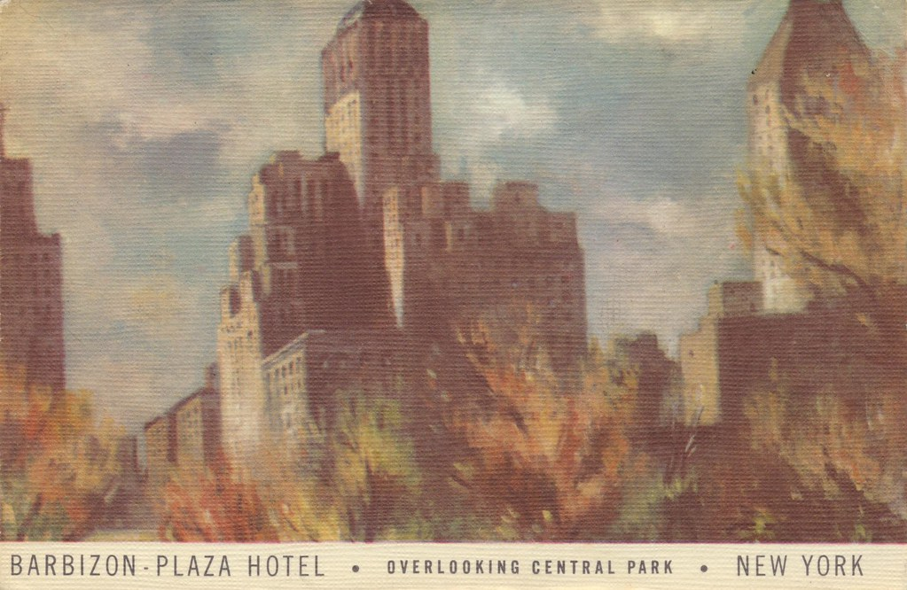 Barbizon-Plaza Hotel - New York, New York