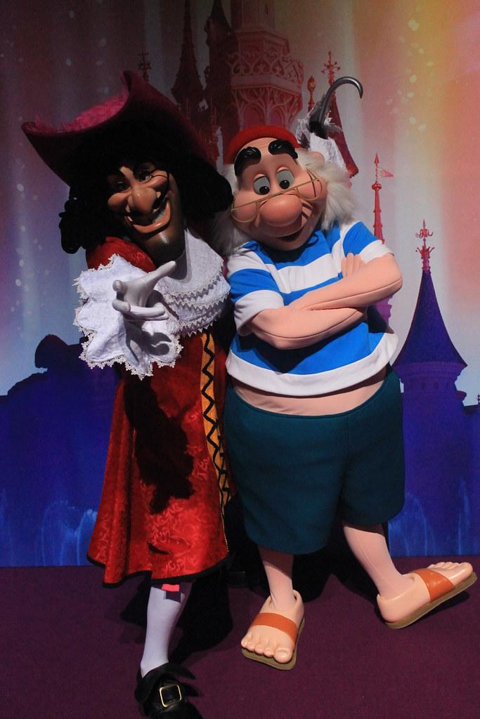 meeting captain hook and mr smee taken on april 11 2012 flickr