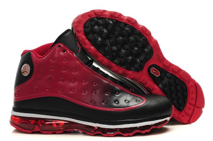 air jordan retro 13 rouge et noir