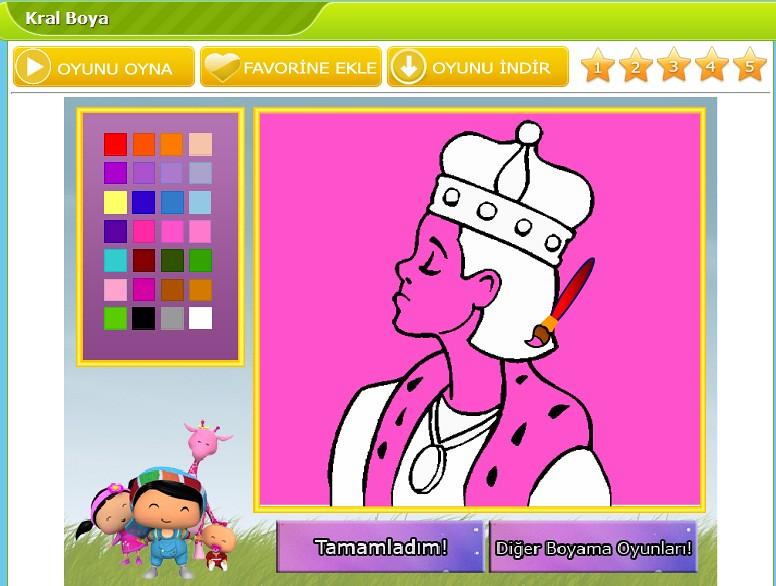 Kral Boya Komik Oyunlar Komik Oyun Komik Oyunlar Ismail Erman
