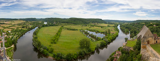 Panorama of the Dordogne from Chateau Beynac-et-Cazenac | by Luke Robinson